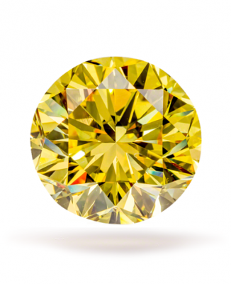 Moissanite Fancy Light Yellow