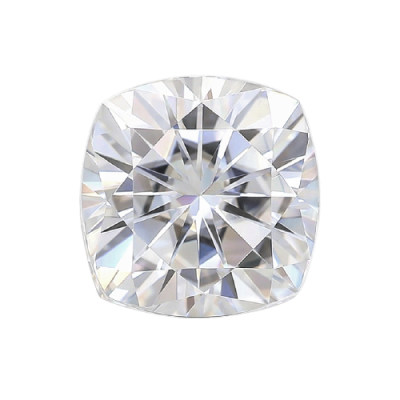 Moissanite Cushion