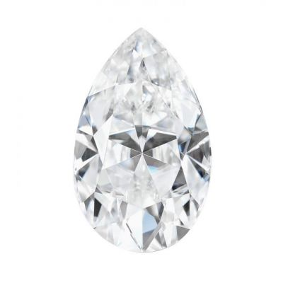 Moissanite Pear