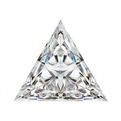 Moissanite Triangle